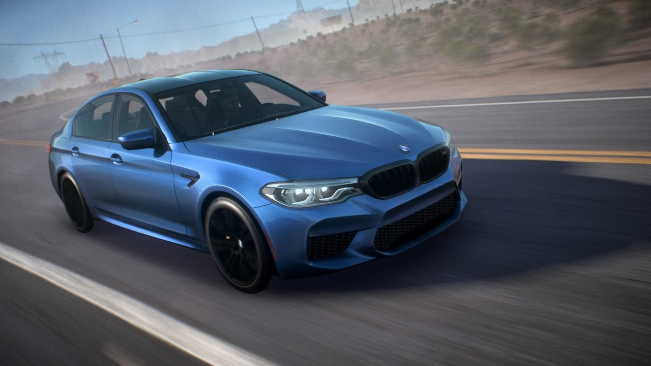 2018 BMW M5 F90 Need For Speed