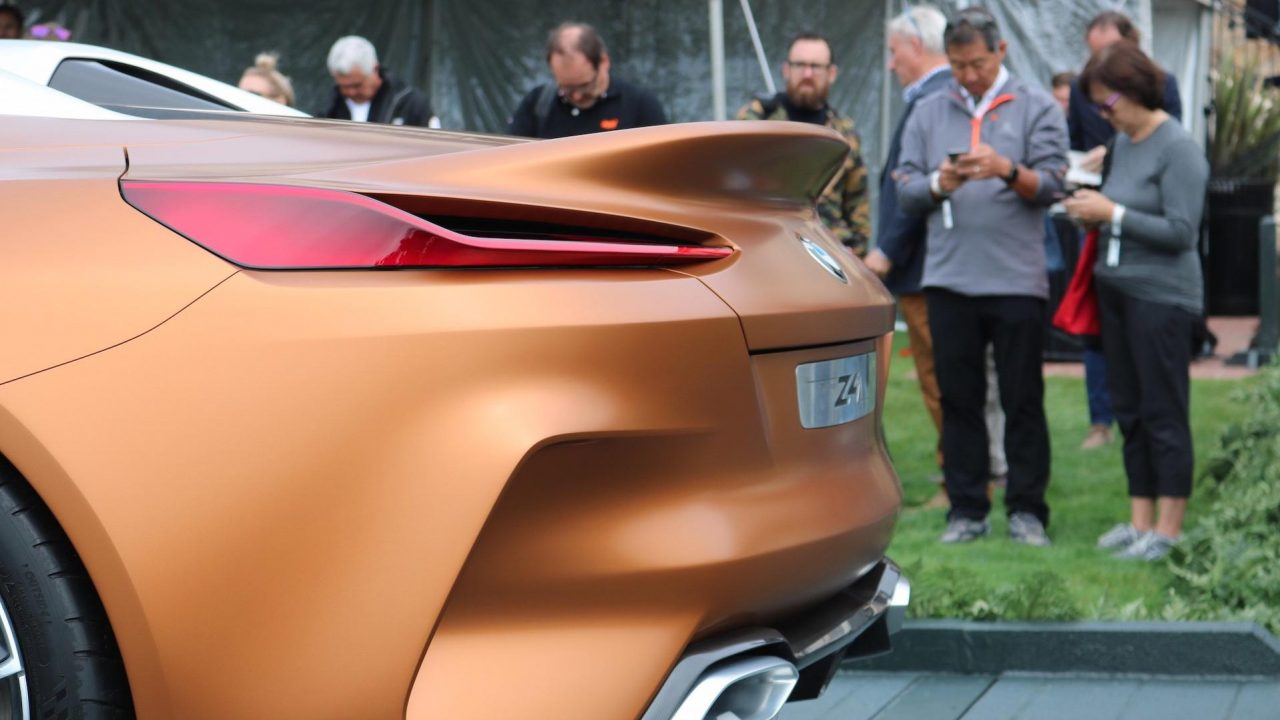 2017 BMW Z4 Concept Pebble Beach