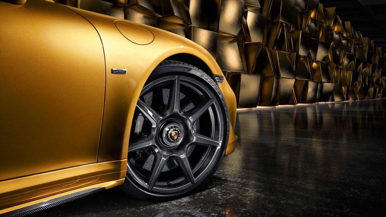 Porsche 911 Turbo S karbonowe felgi