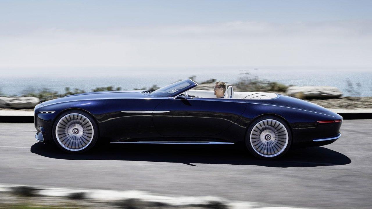 Mercedes-Maybach Vision 6 Cabriolet Concept | MotoFilm.pl