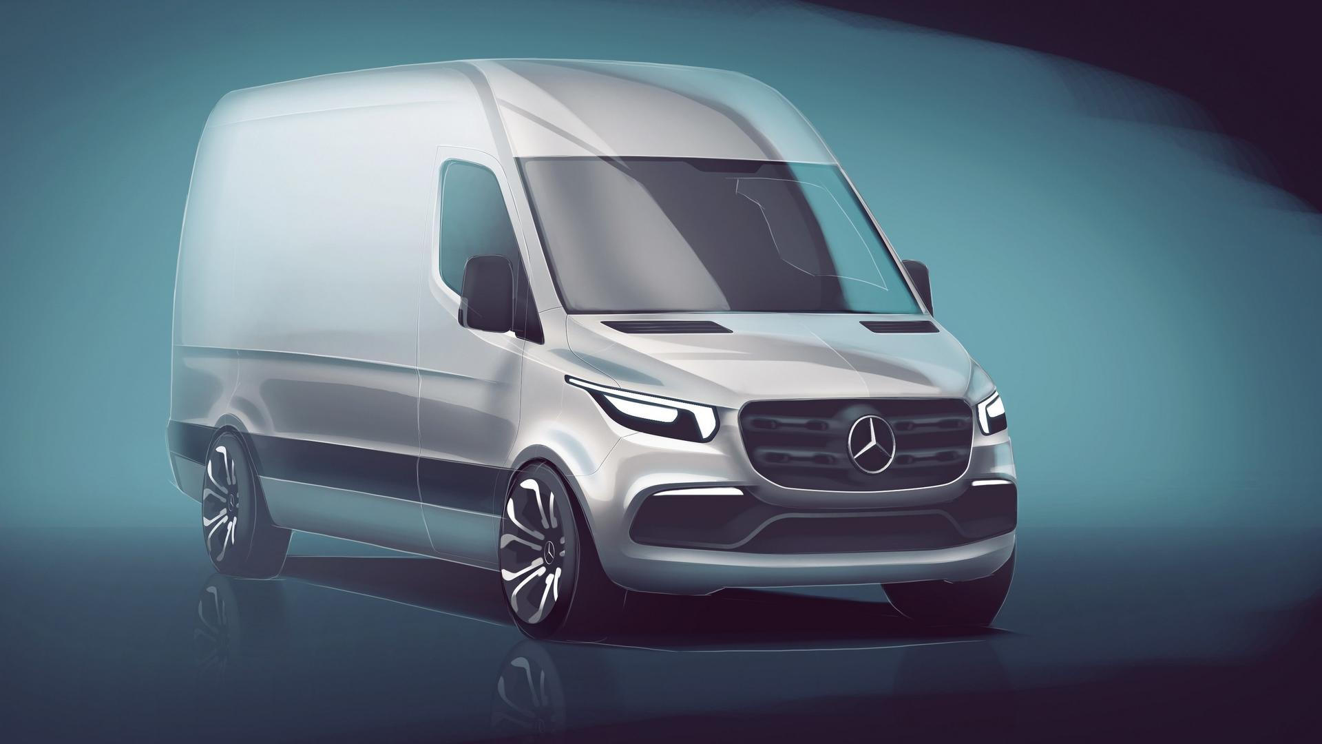 2018 Mercedes Sprinter zapowiedź