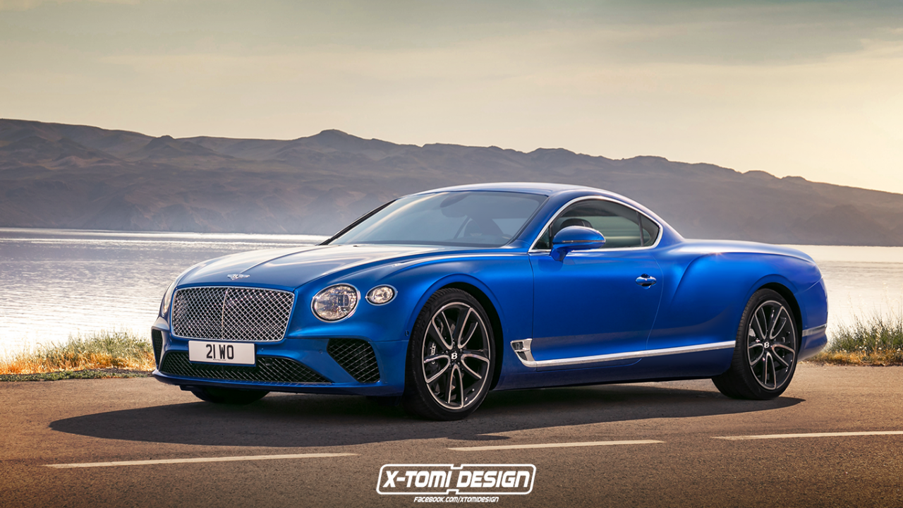 2018 Bentley Continental GT Pickup