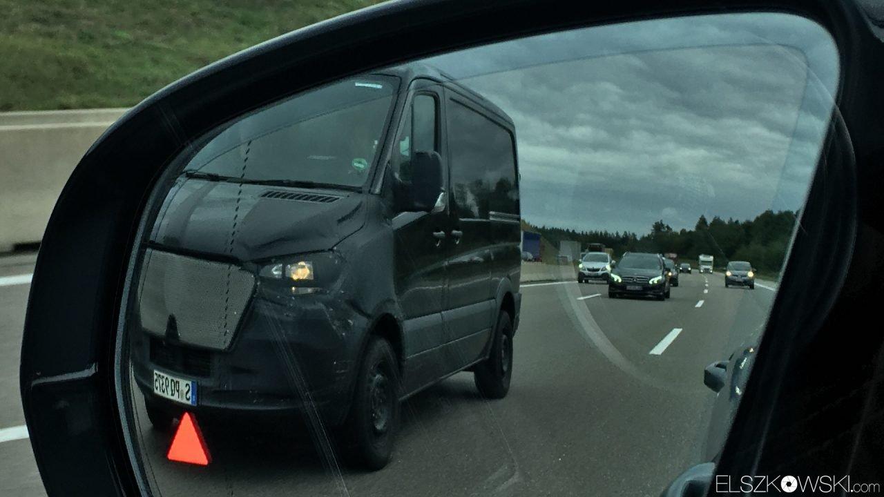 2018 Mercedes Sprinter zdjęcia szpiegowskie