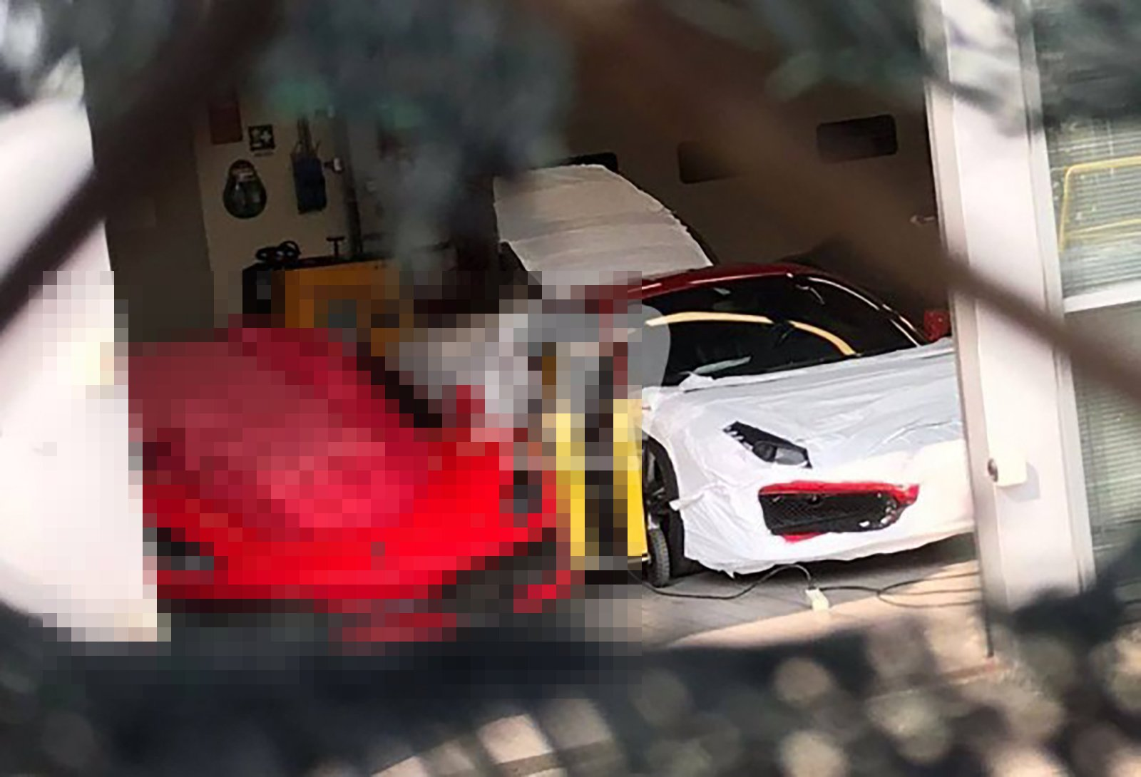 2019 Ferrari 488 GTO spy