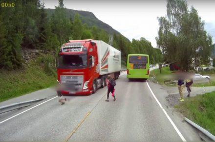 Volvo truck emergency