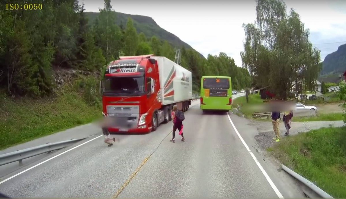 Volvo truck emergency