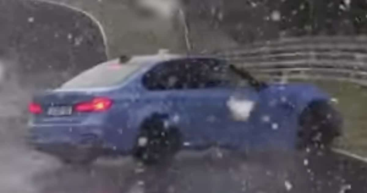 BMW M3 F80: wypadek na torze Nurburgring
