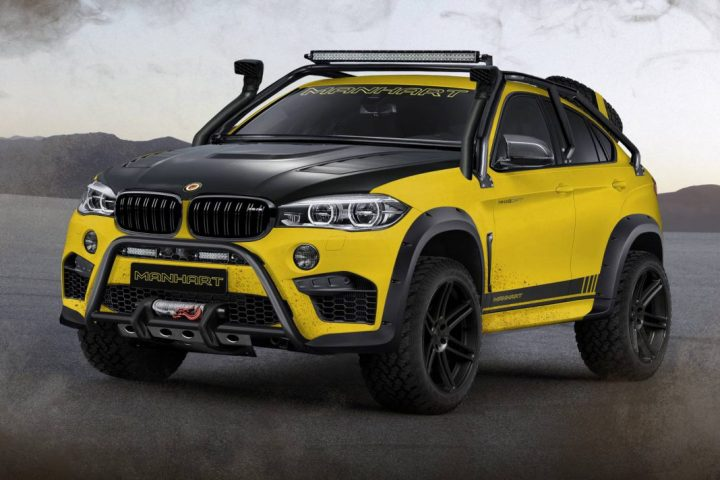 Manhart MHX6 Dirt Concept - BMW X6 M