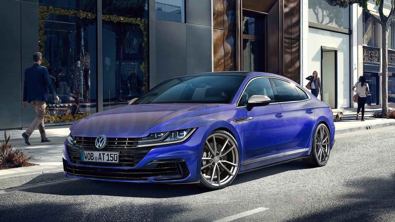 Volkswagen Arteon R rendering by Motofilm.pl