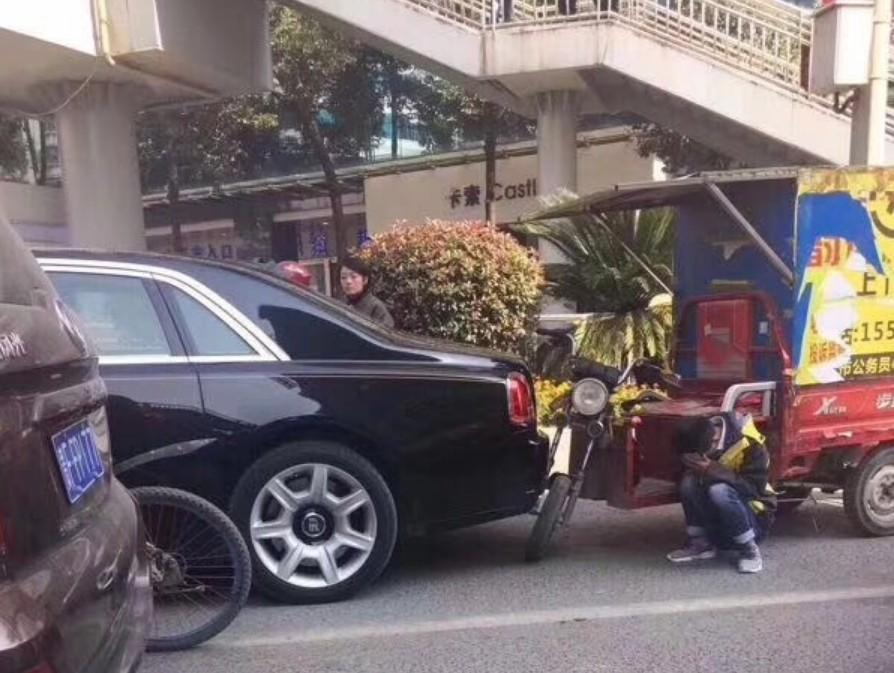 Rolls Royce crash