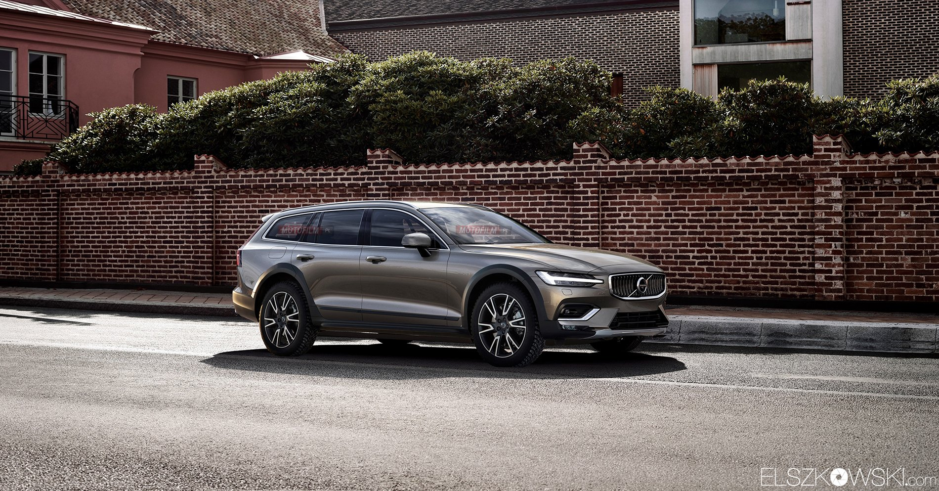 Volvo V60 Cross Country Rendering