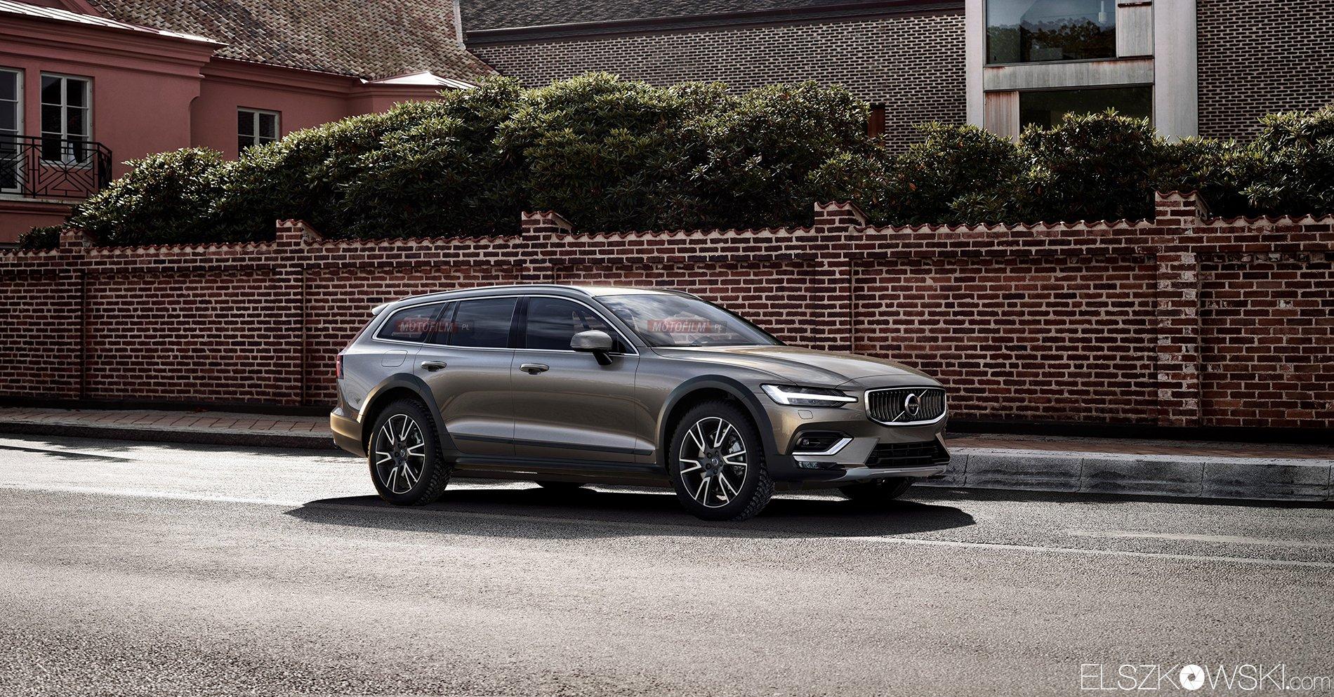 Volvo V60 Cross Country Rendering