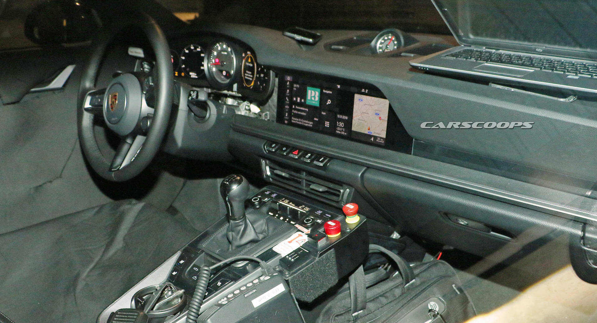 Porsche 992 interior