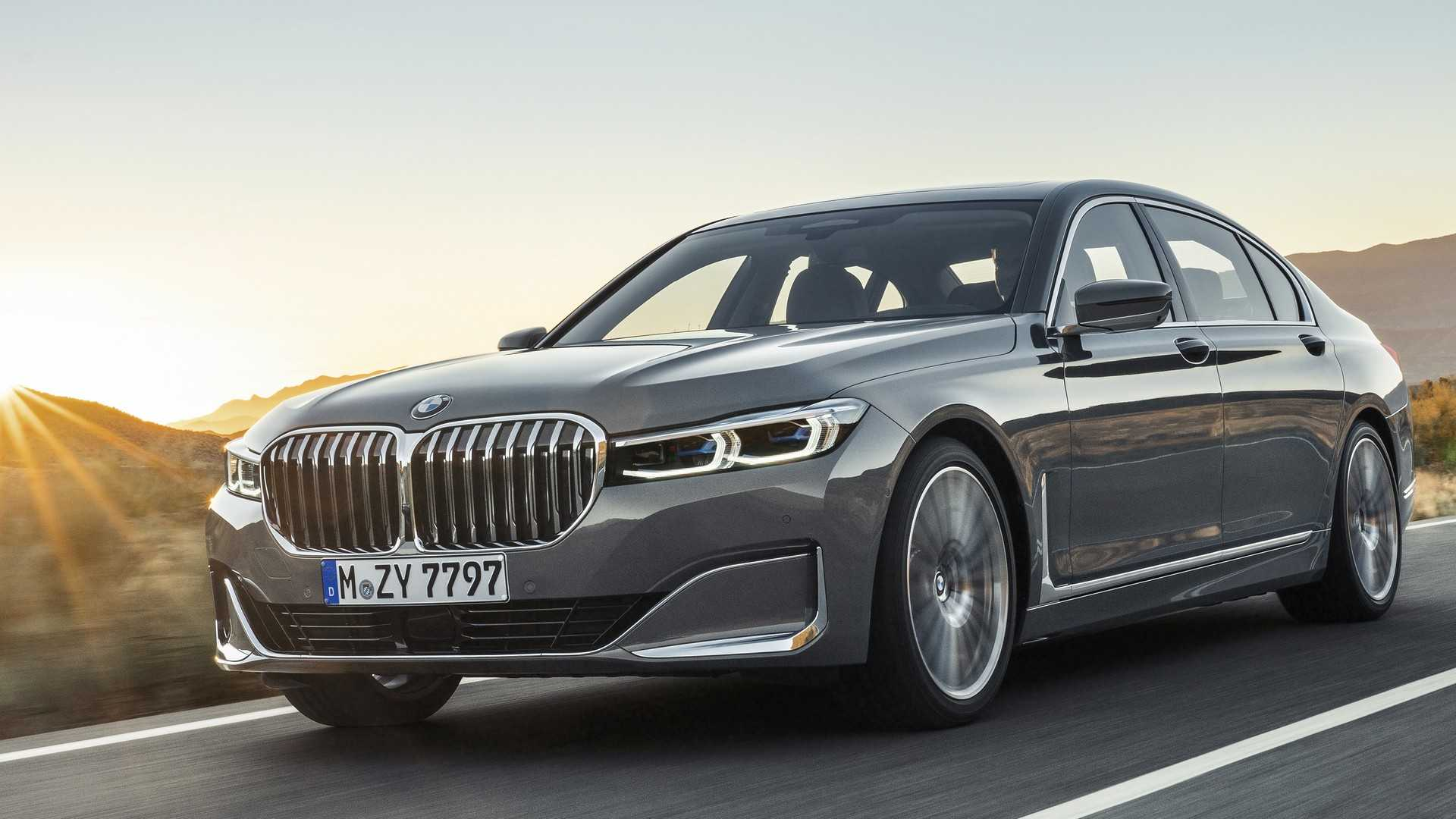 BMW serii 7 2020