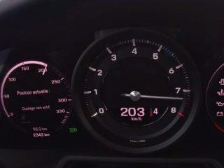 Porsche 911 Carrera S zegary