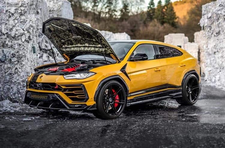 Lamborghini Urus Manhart tuning
