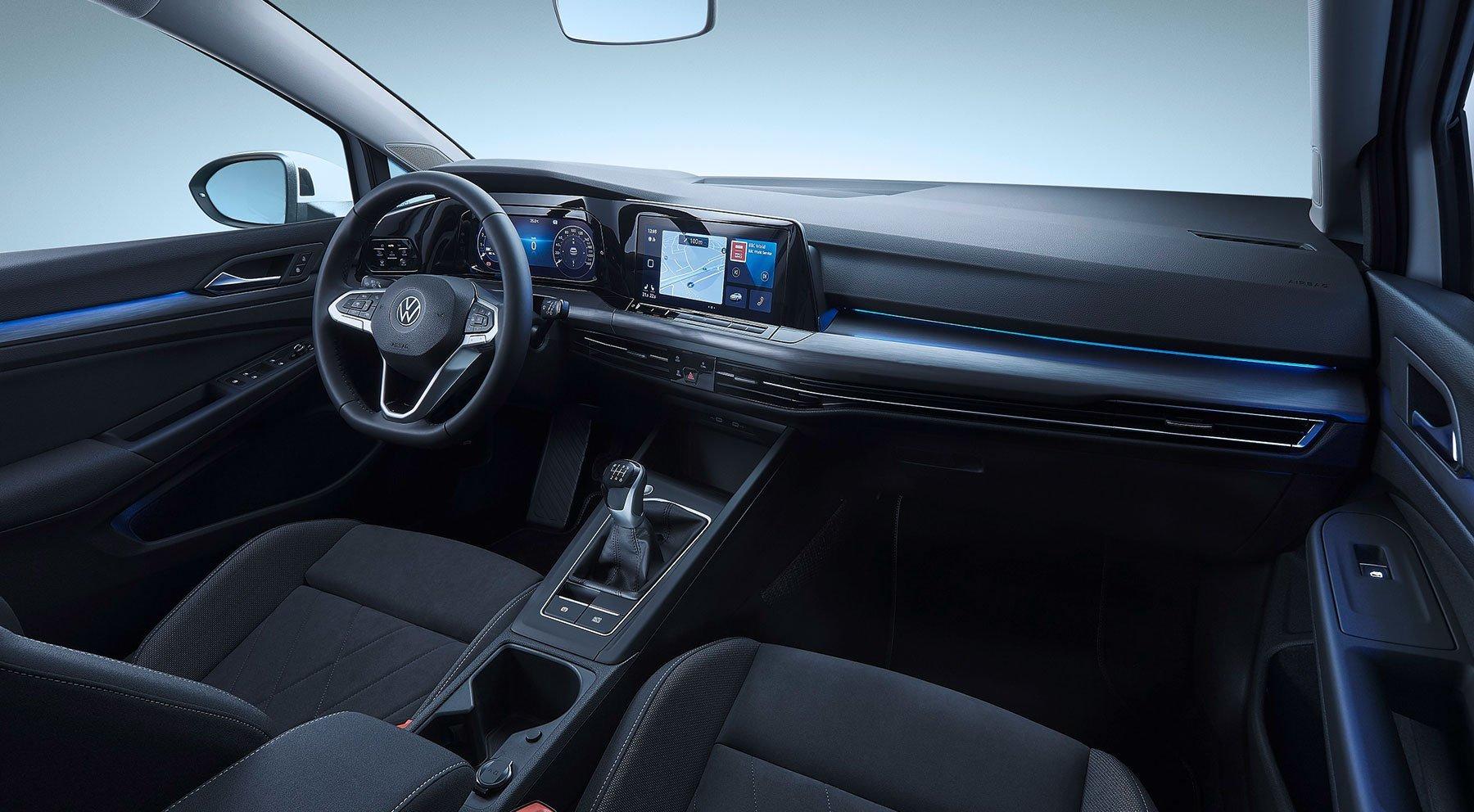 Wnętrze VW Golf VIII