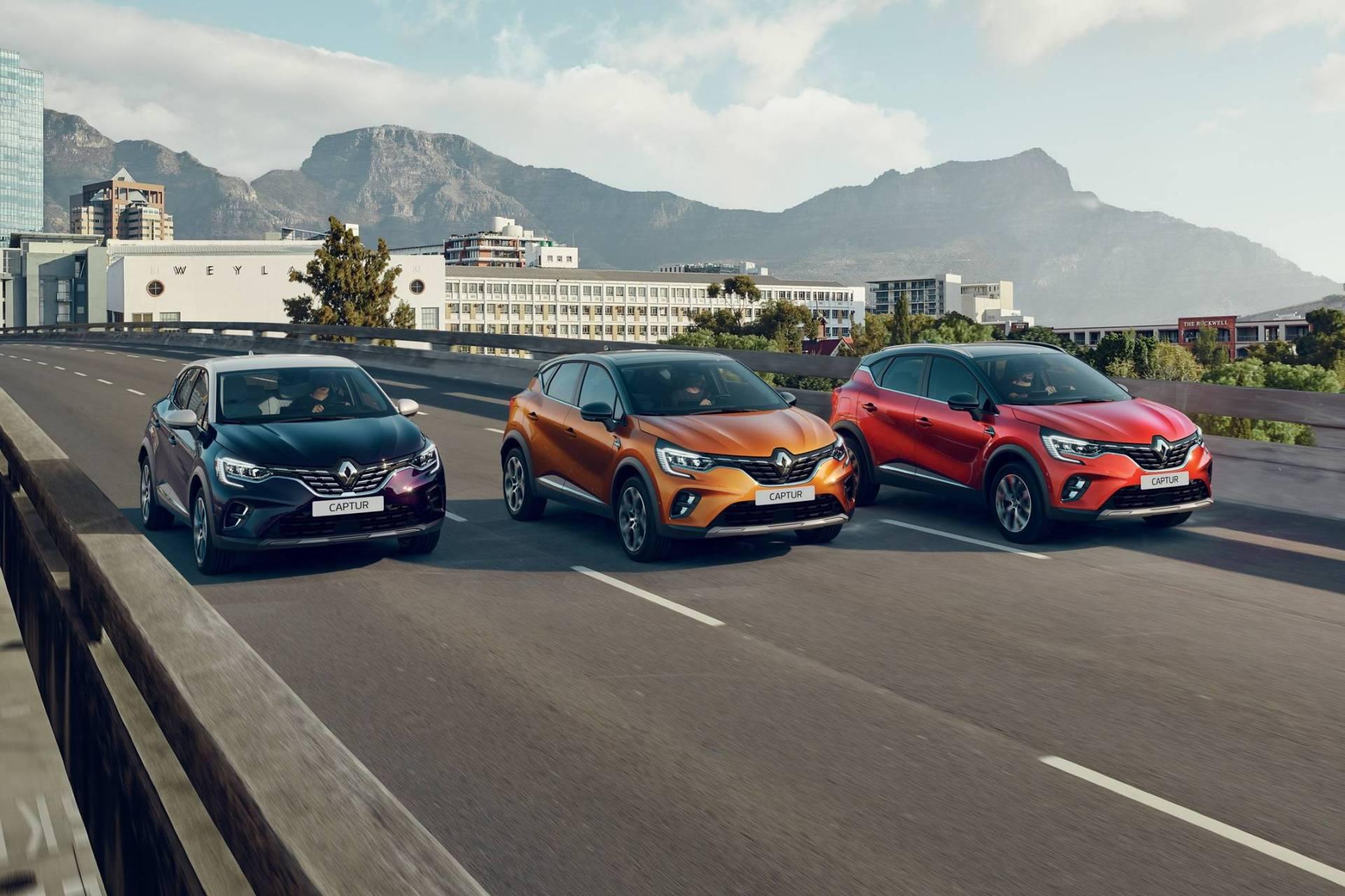 NOWE KOLORY Renault Captur