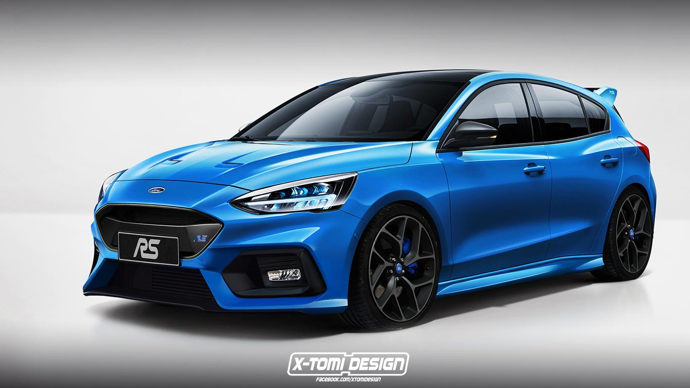 Ford Focus RS 2021 wizualizacja