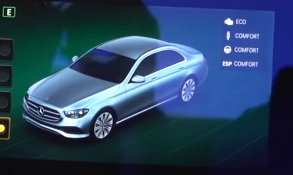 Mercedes E 2021 multimedia