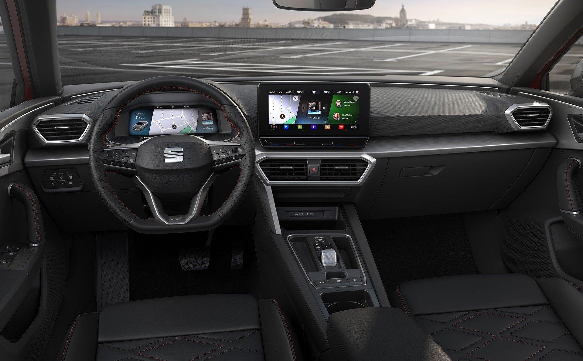 SEAT Leon IV 2020 wnętrze