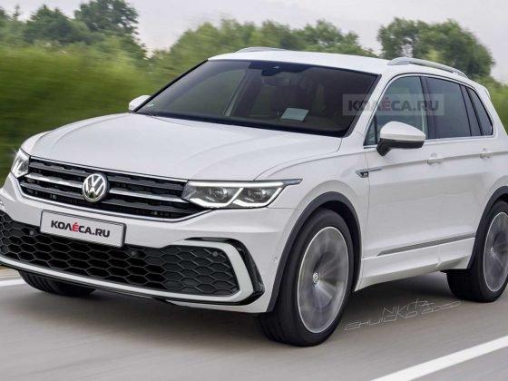 Volkswagen Tiguan 2021 wizualizacja