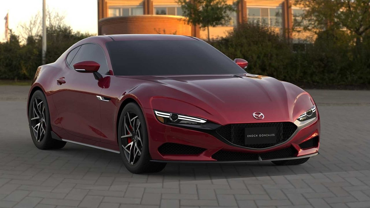 Mazda RX-7 Rendering 2022 Enoch Gabriel Gonzales