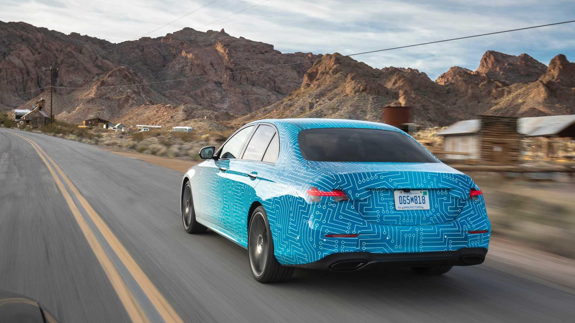 Mercedes Klasy E Facelift 2021