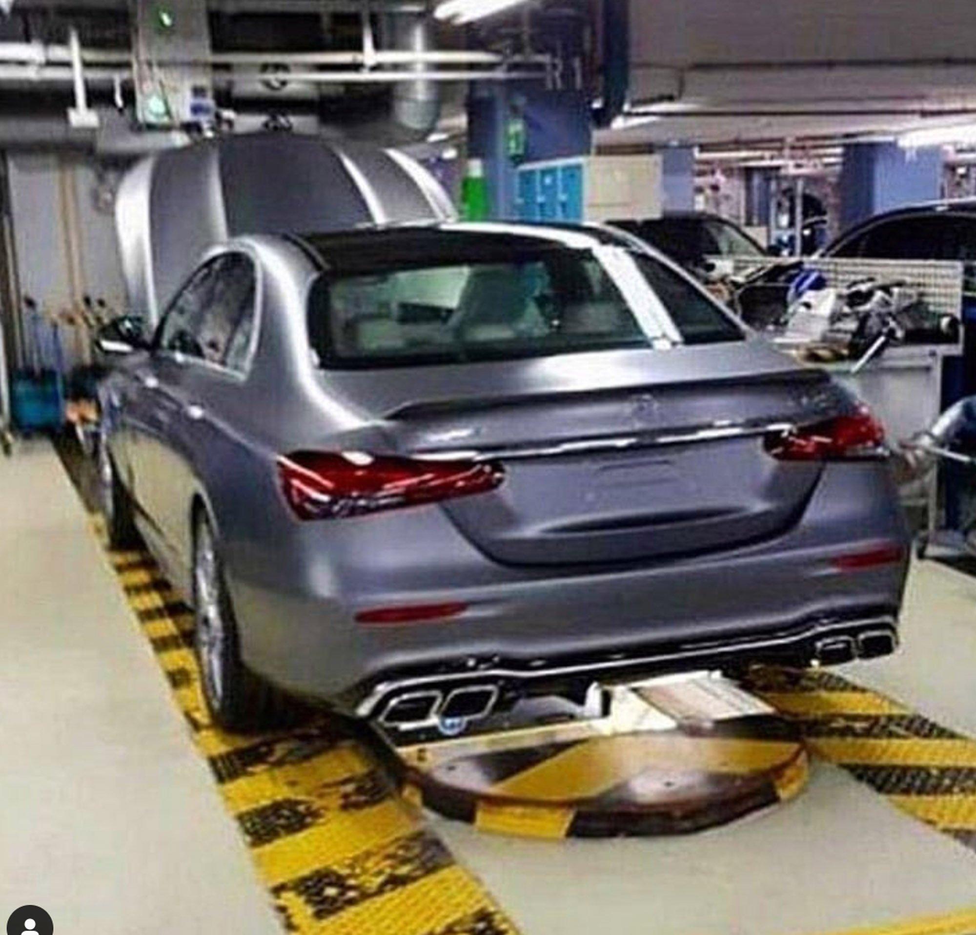 Mercedes-AMG E63 2020