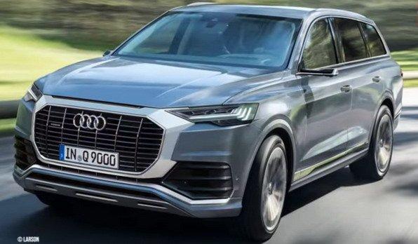 Audi Q9 larson wizualizacja
