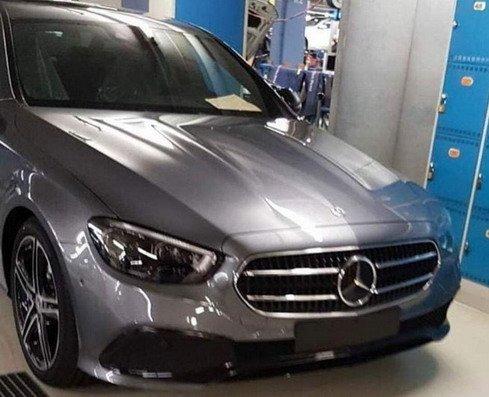 Mercedes E 2021 przód