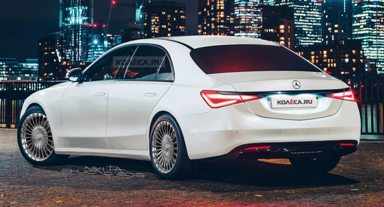 Mercedes-Benz S 2020 wizual