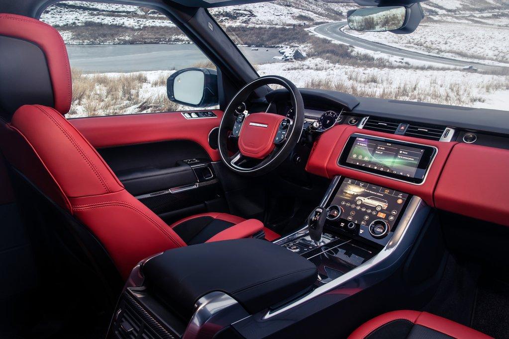 Range Rover Sport wnętrze