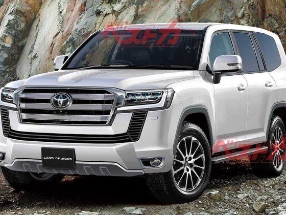 Toyota Land Cruiser 2020 wizualizacja