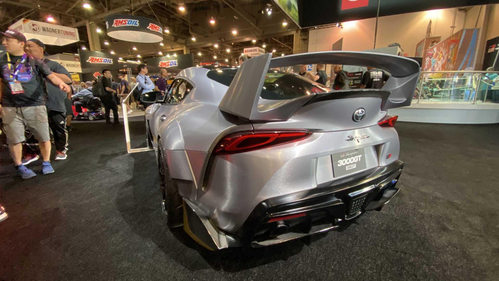 Koncepcyjna Toyota Supra 3000GT