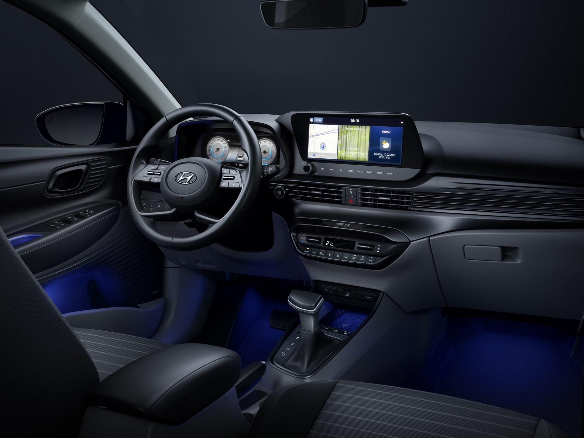 Hyundai i20 2020: wnętrze