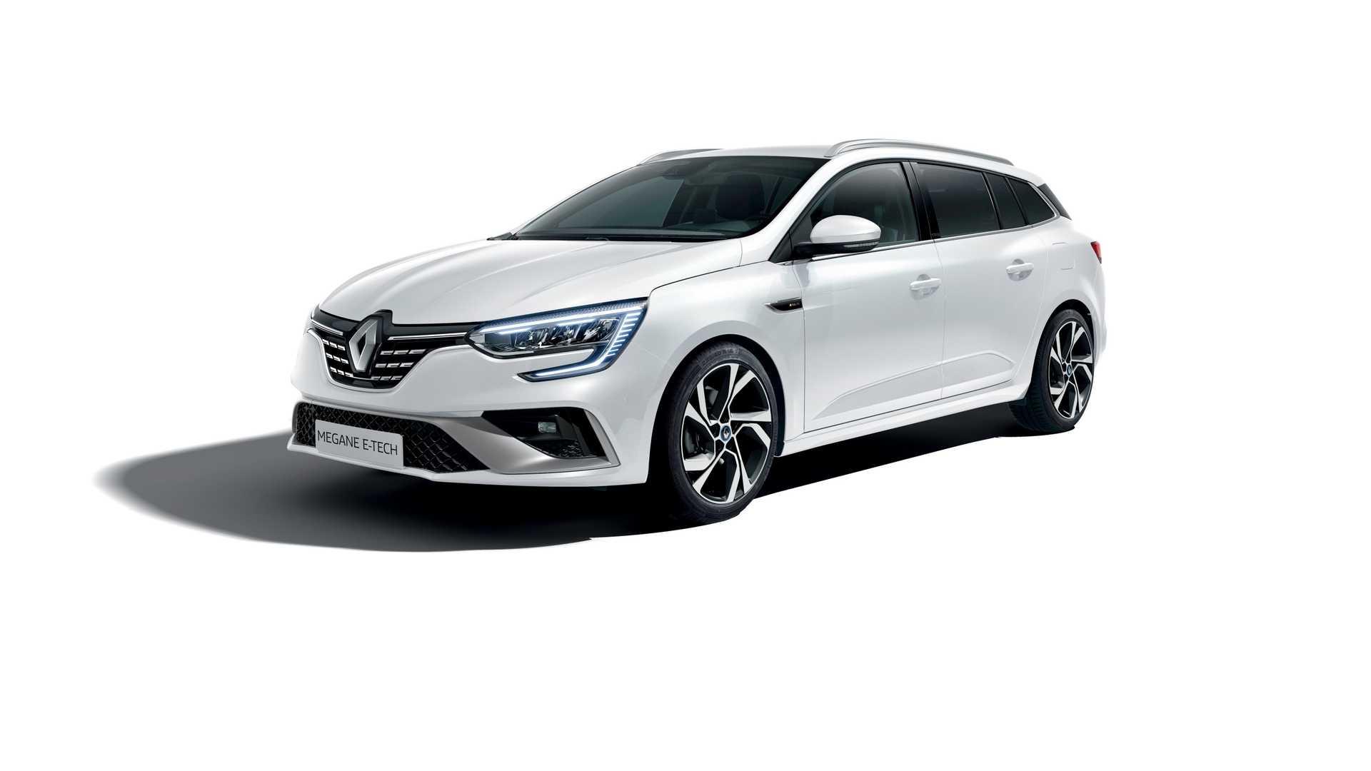 Renault Megane 2020 E-Tech plug-in hybrid