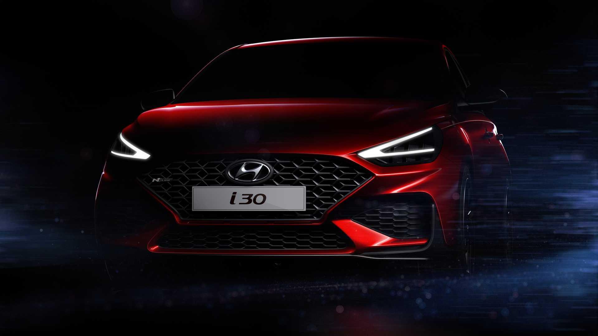Hyundai i30 N Line Facelift 2021