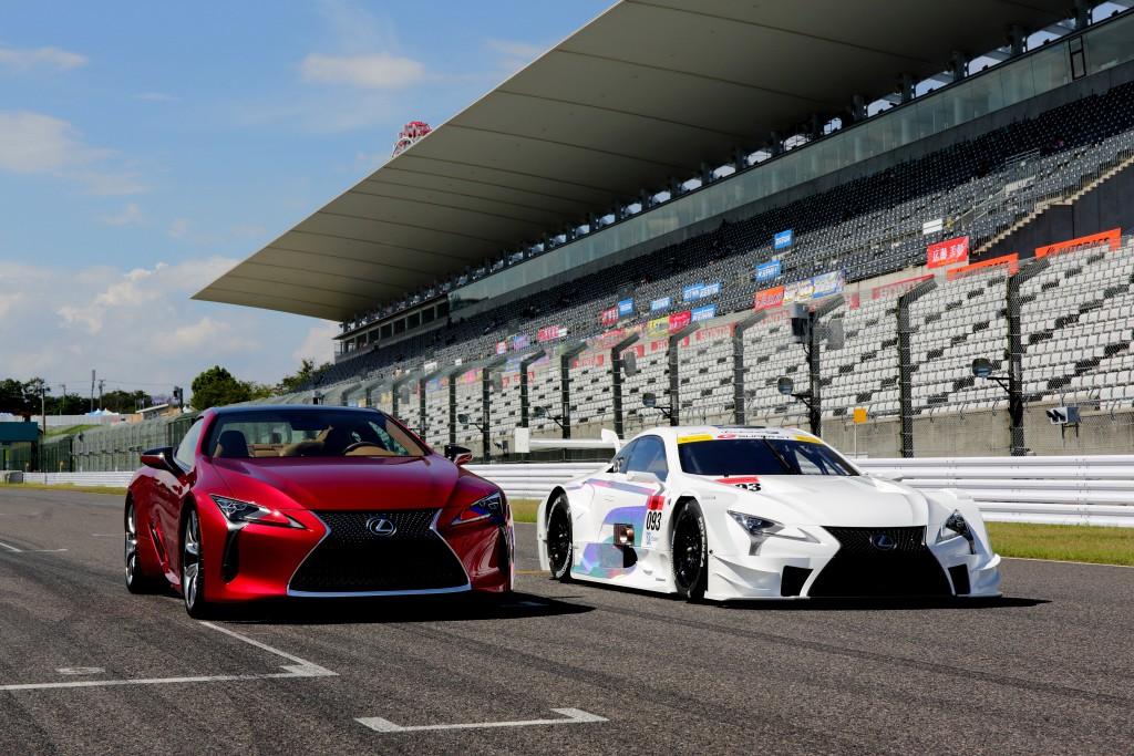 Lexus LC F V8 prototyp