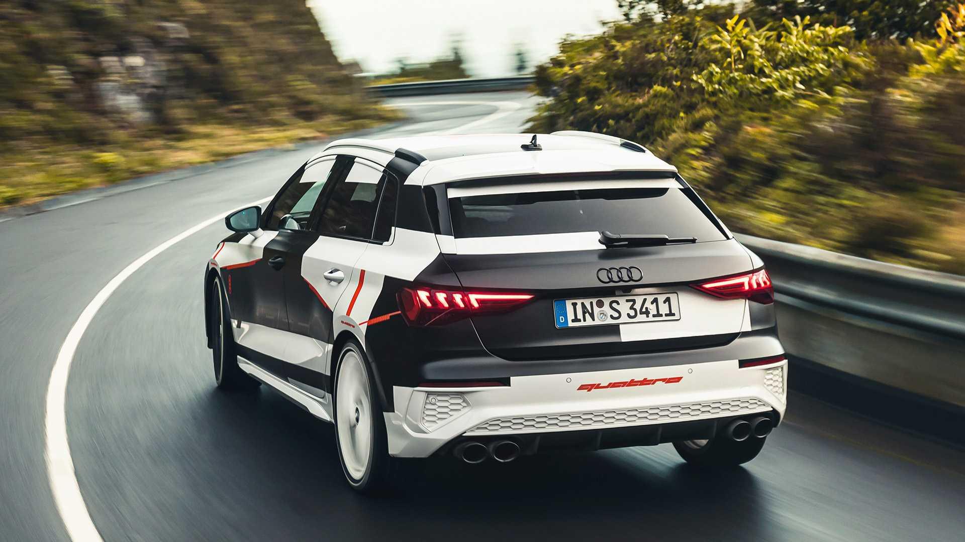 Audi S3 Sportback 2020 przed debiutem