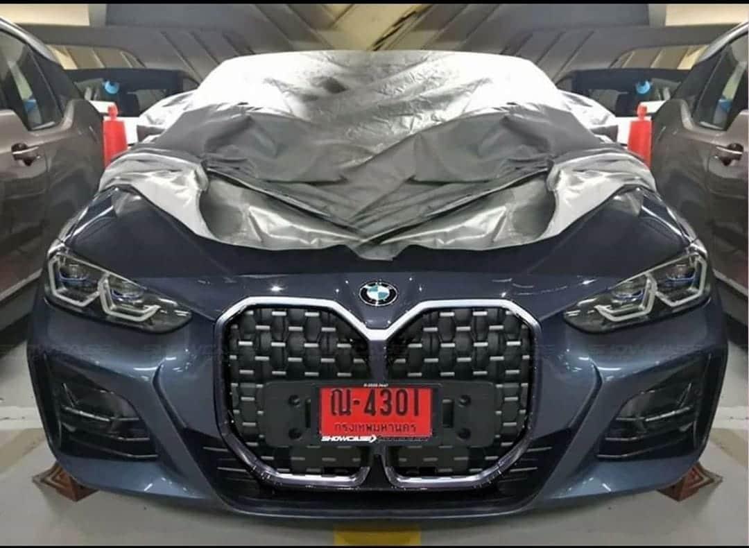 BMW 4 2020 przód