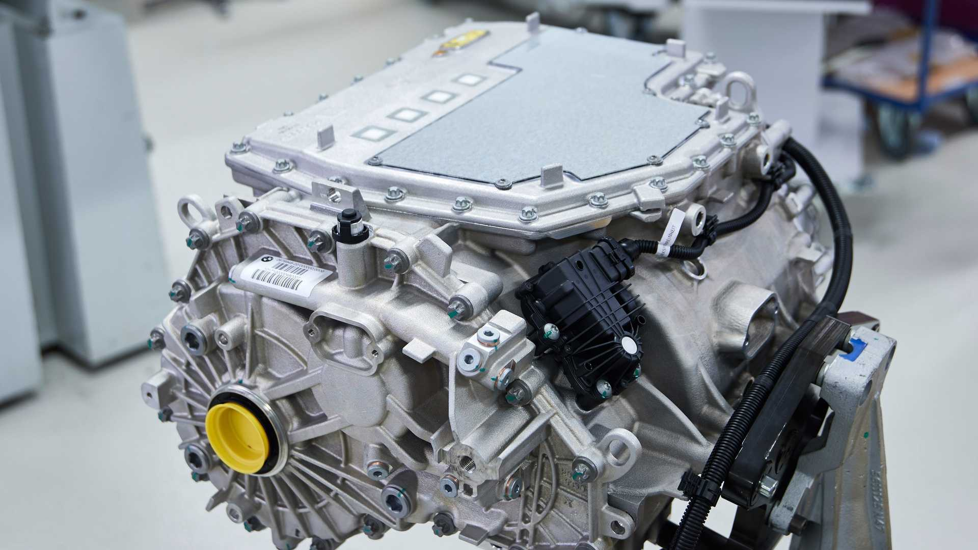 BMW iX3 silnik