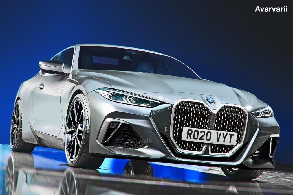 BMW serii 4 2020 wizualizacja
