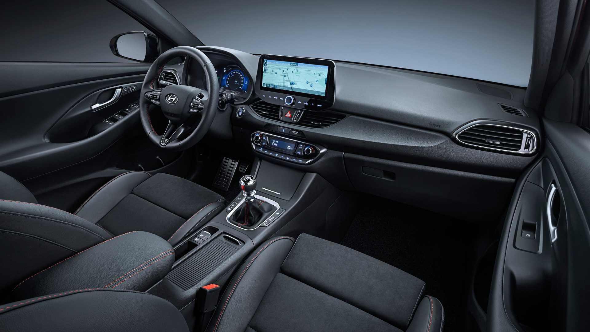 Hyundai i30 2021 - wnętrze