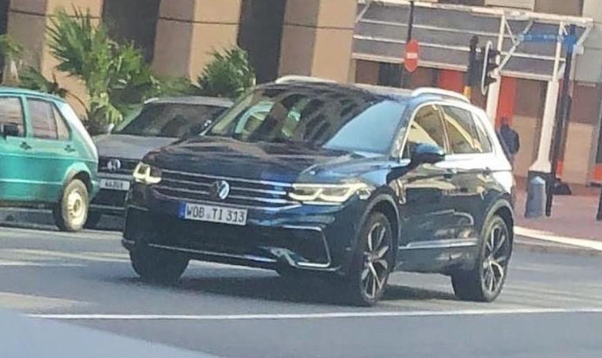 Volkswagen Tiguan Facelift 2021