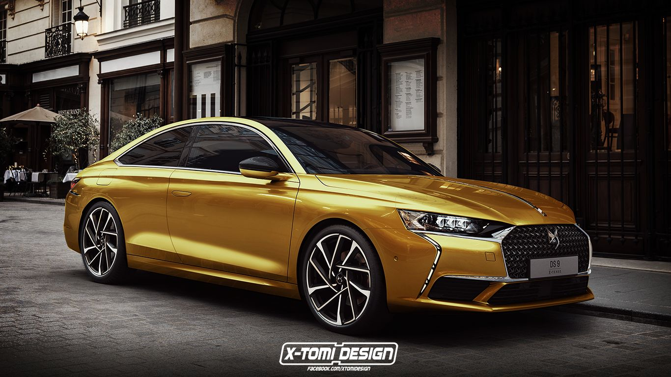 DS 9 Coupe rendering