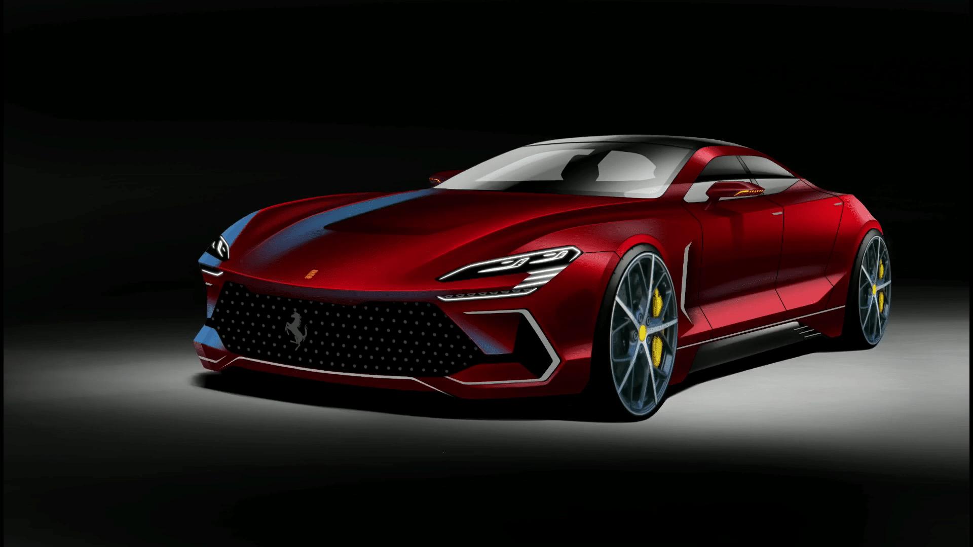Wizja Ferrari, które powalczy z Panamerą