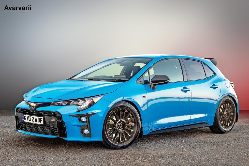Toyota Corolla GR wizualizacja