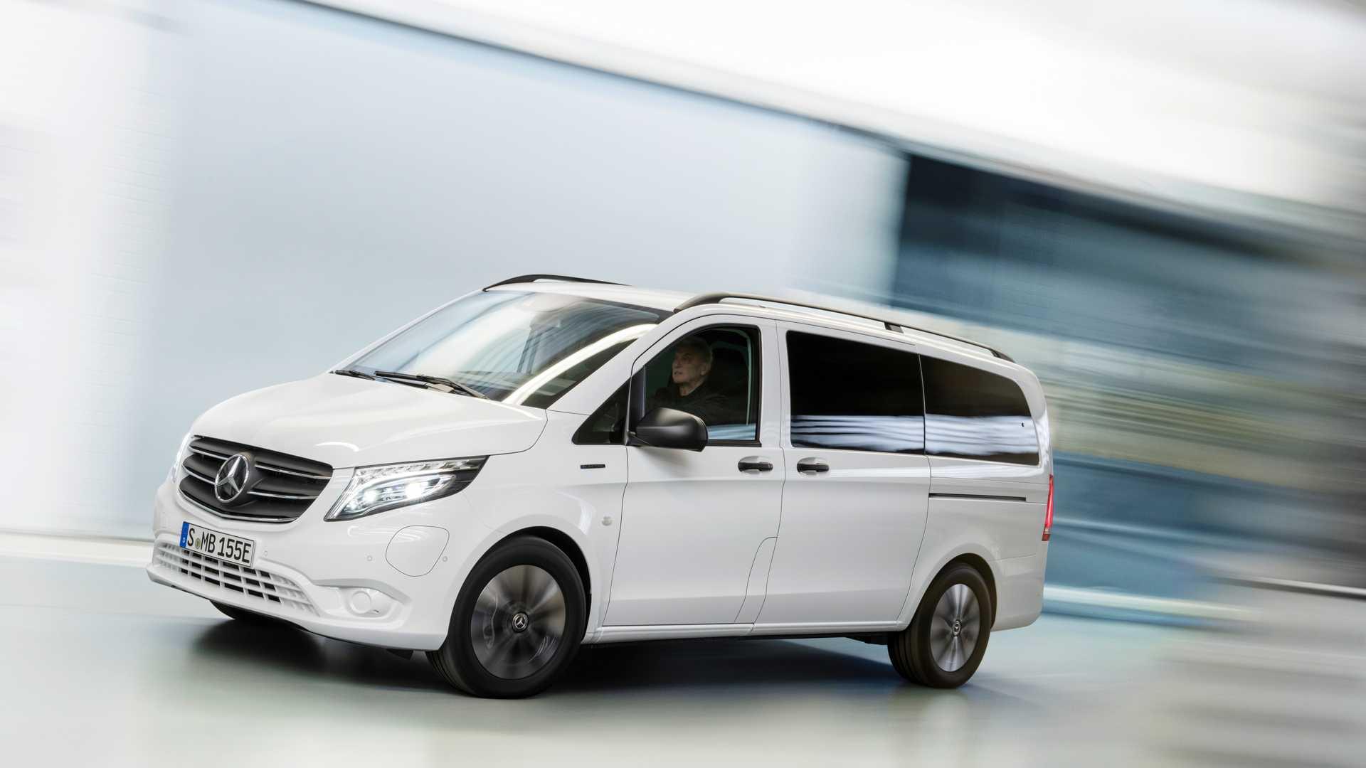 Mercedes-Benz eVito 2020 - elektryczny