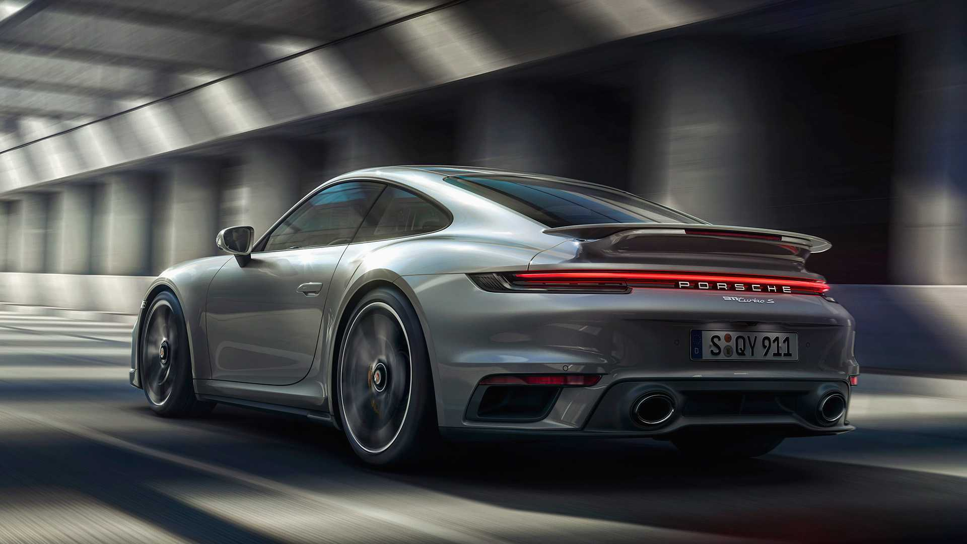 Porsche 911 Turbo S (992) 2021